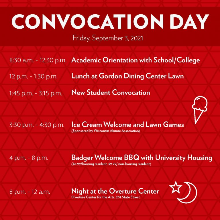 Convo Day schedule--text is also embedded in page
